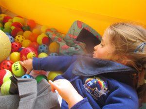 Exploring the sensory balls