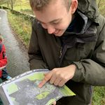Map reading at Haybridge