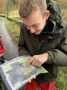 Map reading at Haybridge