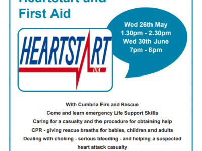 Heartstart and First Aid